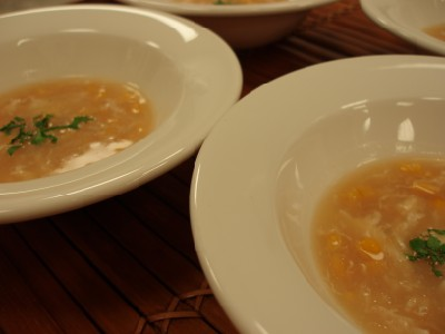 Laocook Sweetcorn Soup