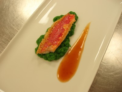 Red Mullet with Ginger Soy Sauce Laocook