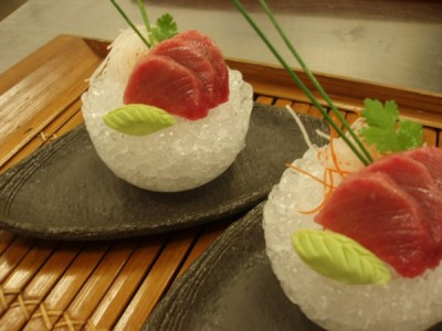 Tuna Sashimi Laocook on Ice