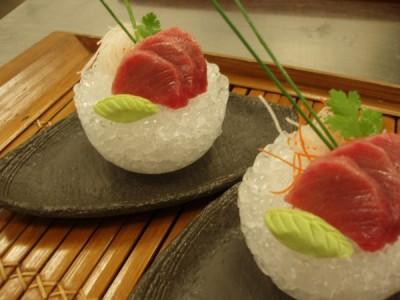 Tuna Sashimi Laocook on Ice