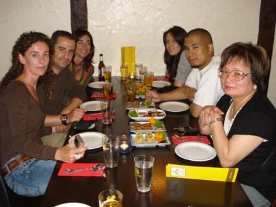 Dinner at Thai Thai