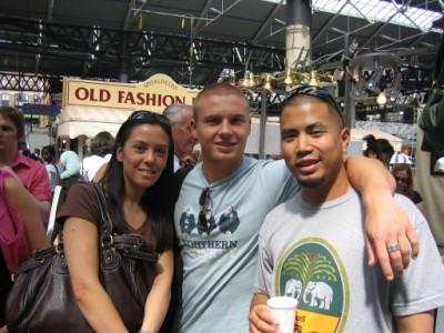 Laurene, Kyal Marsh and King