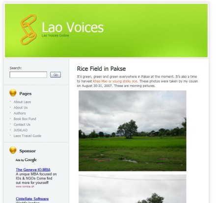Lao Voices
