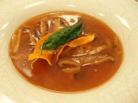 Shiitake and Bamboo Soup