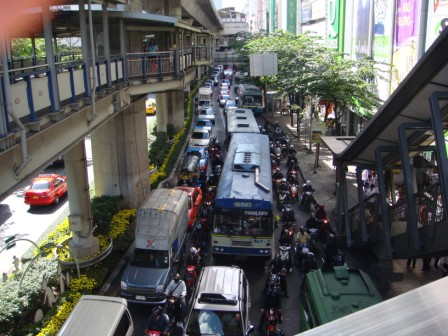 Bangkok Traffic Laocook