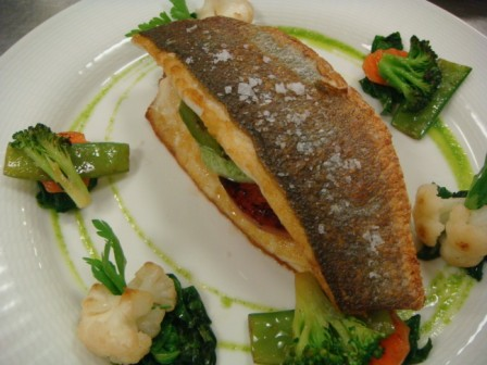Seabass with Vegetables Laocook