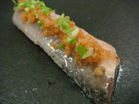 Sardine with Tocino Laocook