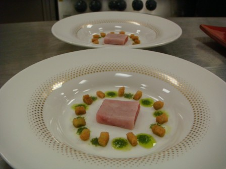 Tuna Sashimi and Gazpacho Version 2 Laocook