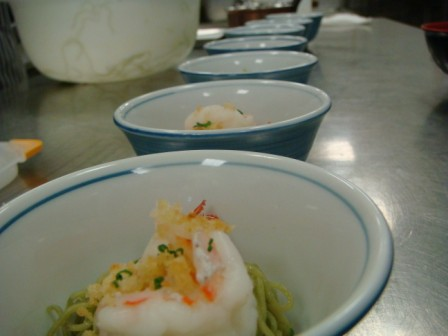 Jade Noodles and Prawns Laocook