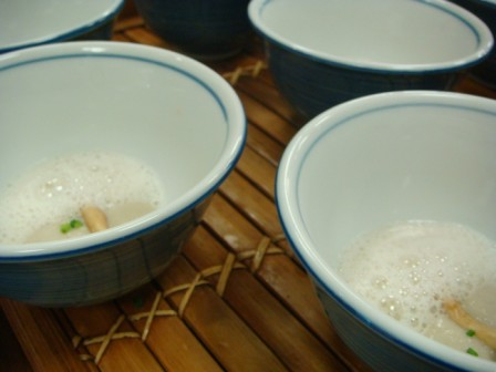 Mushroom Foam Laocook
