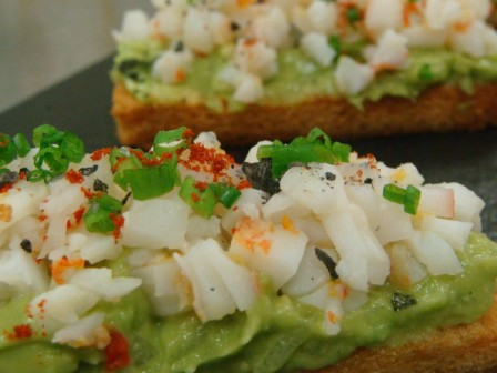 Avocado and King Prawn Laocook