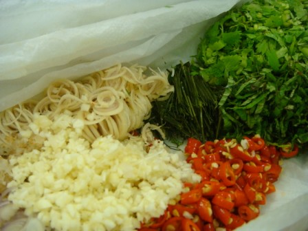 Larb Ingredients Laocook