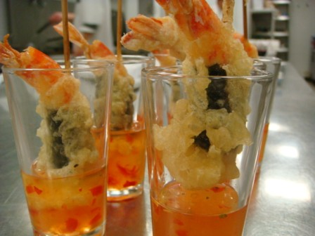 Amuse Bouche King Prawn Laocook